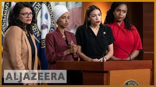 US congresswomen targeted by Trump: 'We will not be silenced'