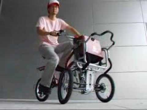 Transforming Stroller with Bike