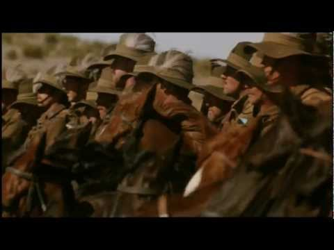 LIGHTHORSEMEN AUSTRALIAN CLASSIC WW1 MOVIE - TRAILER