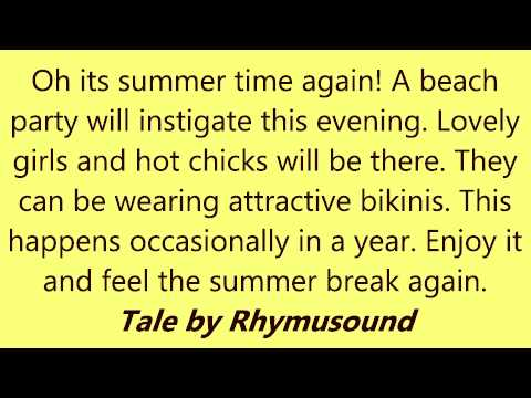 Beach Party - Kevin M. - Tale By Rhymusound