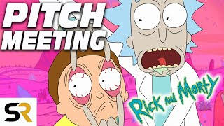 Rick and Morty Pitch Meeting