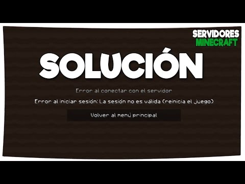 SOLUCIONAR ERROR BAD LOGIN / ERROR AL INICIAR SESIÓN   SERVIDORES MINECRAFT