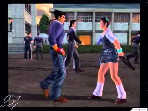 Ling Xiaoyu School Ling Xiaoyu And Jin Kazama xd