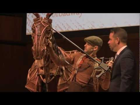 "Omaha Performing Arts 13/14 Season Event with ""Joey"" from War Horse"