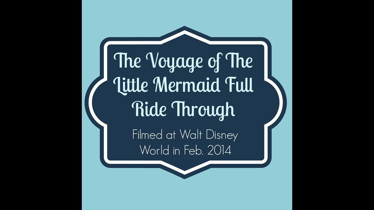 Walt disney world ride through entire the voyage of the for Sejour complet disney