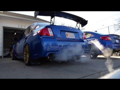 450HP 2014 Subaru WRX STi Cold Start. Rev. And Walk Around