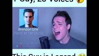 1 Guy, 23 Voices!!! This Guy Is legend