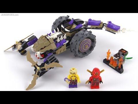 Lego Ninjago Anacondrai Crusher Review! Set 70745 video