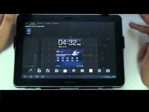 GO Launcher HD] Best Android Launcher For Tablet Review