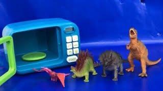 Learn Dinosaurs 🐲 Magic Microwave ⛱ Kids Learning 🎼 Nursery Rhymes 🎁 Toys for Kids 🎉 Kids Fun