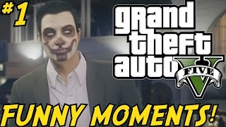 "GTA 5 Online Gameplay ""FUNNY MOMENTS!"" #1 - (Grand Theft Auto V Xbox One Online)"