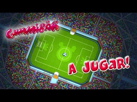 Gummibär - A Jugar! - World Cup Soccer/Football Song - Spanish - Gummy Bear - Osito Gominola