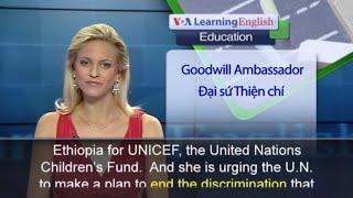 Anh ngữ đặc biệt - UNICEF Female Education
