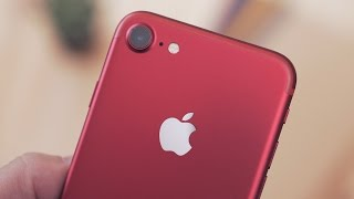 Hands-On with the Red iPhone 7!