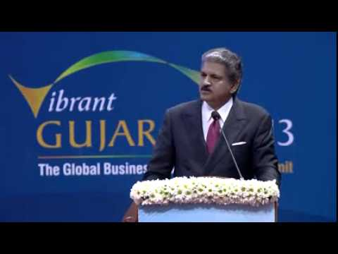 Anand Mahindra Speech during Inauguration of Vibrant Gujarat Summit 2013 1