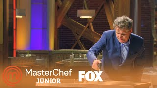 Gordon Ramsay Demonstrates How To Brulee | Season 3 Ep. 7 | MASTERCHEF JUNIOR
