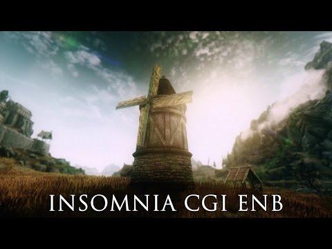 TES V - Skyrim Mods: Insomnia CGI ENB