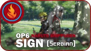 [RapidDub] Naruto Shippuden OP6 - SIGN (SERBIAN)