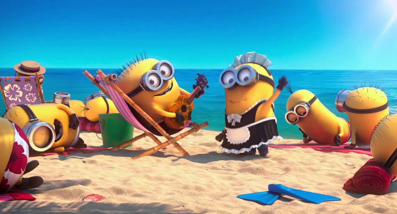 Despicable Me 2 - Beach
