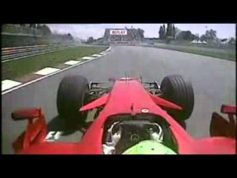 Felipe Massa Faz Ultrapasagen Fantastica Gp do Canada 2008