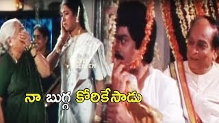 Jagapathi Babu And Aamani Funny Love Scene | Best Funny Love Scenes | Silver Screen Movies
