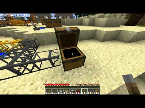 Minecraft Mod Tutorial : Build Craft (1.8.1) Music Videos