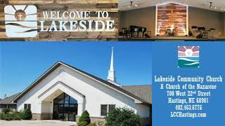 Sunday, January 20, 2019 Service at Lakeside Community Church; A Church of the Nazarene