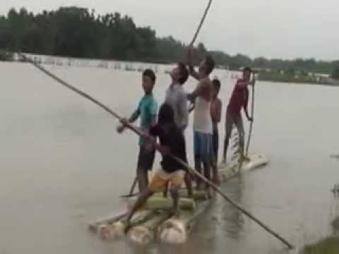 Rainy days in Assam  during Monsoon season in North East of...