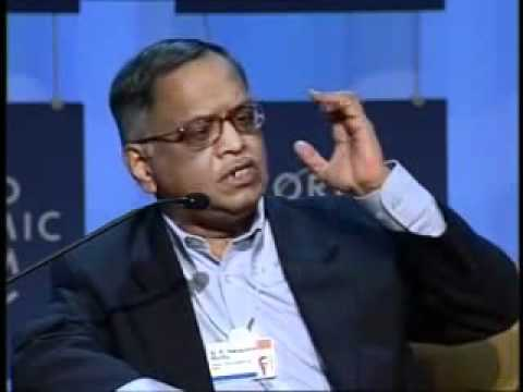 Narayana Murthy on Values & Leadership