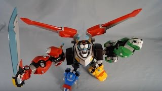 Voltron Legendary Defender Combining Figures Review