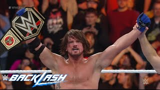WWE Backlash 2016 Full Show Predictions Game! Aj Styles Winning the WWE World Championship?!