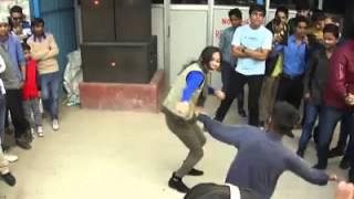 Indian girl dj dance