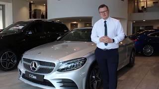 The new 2018 Mercedes-Benz C-Class facelift