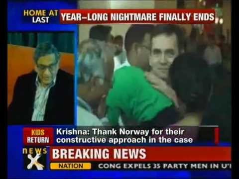 Norway custody row: Children belong to India, says Krishna-NewsX