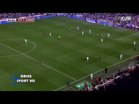 Gareth Bale Marathon Goal Vs. Barceloa (2014 Copa Del Rey Final) (All Arab Commentators)