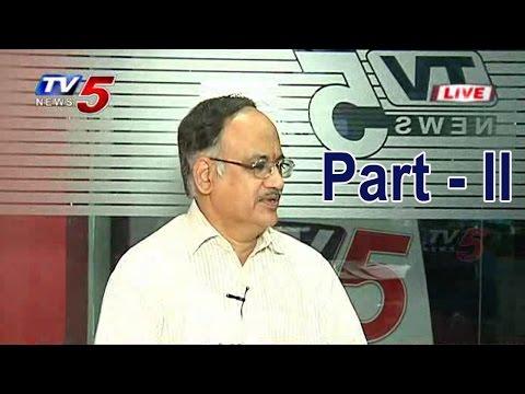 AP Planning Commission Deputy Chairman Kutumba Rao on AP Capital | Part 2 : TV5 News