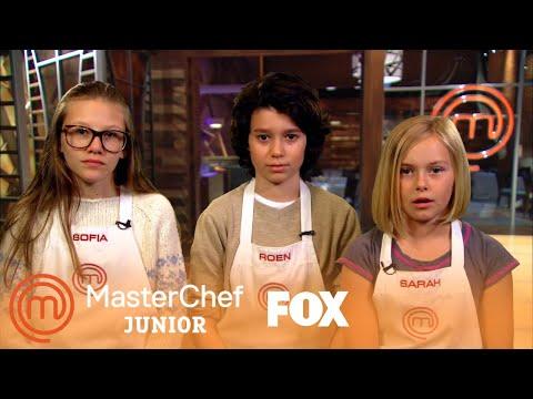 Mini-MasterChefs: Sofia, Roen & Sarah | MASTERCHEF JUNIOR | FOX BROADCASTING