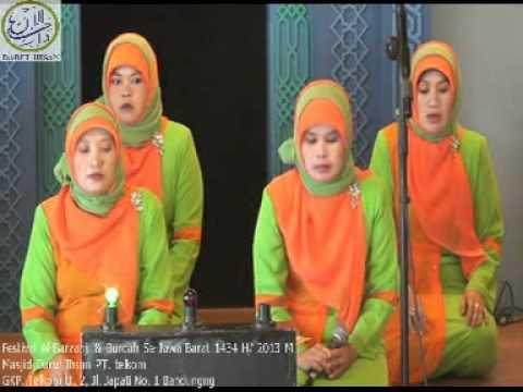 Festival Al-barzanji & Burdah 2013 mt. Baitul Hikmah haurkuning video