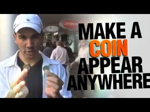 Free Coin Tricks Revealed: Make A Coin Appear Anywhere!
