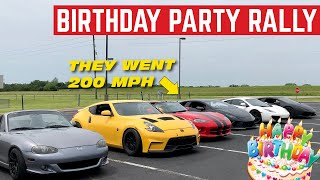 My Birthday PARTY Was An INSANE Supercar Rally