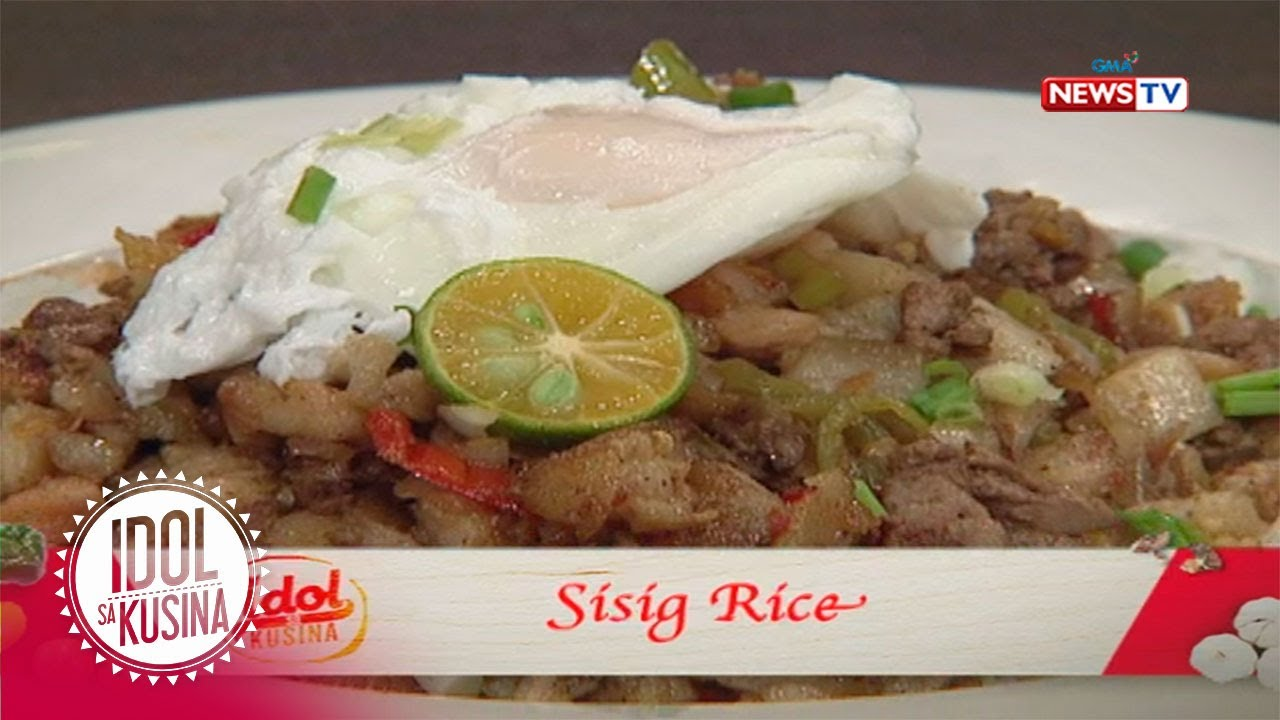 Idol sa Kusina: Sisig Rice