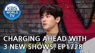 Blushing Anew/ Huiyeol's Talk/ Dancing High [Entertainment Weekly/2018.09.10]