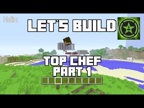 Let's Build in Minecraft - Top Chef Part 1
