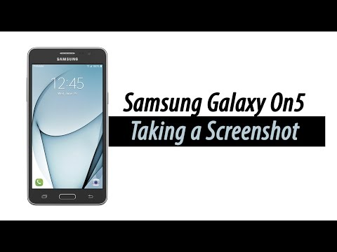 Samsung Galaxy On5 - How to Take a Screenshot