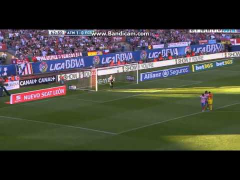 Barcelona 2 - 1 Atletico Madrid || 12/05/2013 || Highlights And Goals