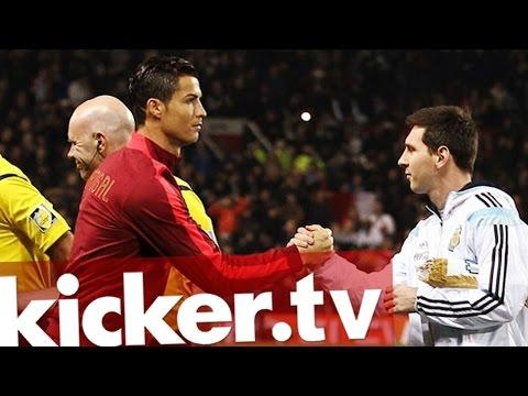 Vorteil Ronaldo - Portugal schlägt Argentinien mit Messi - kicker.tv