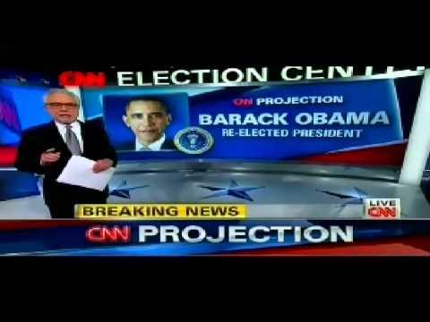 WINNER: President Barack Obama WINS Re-Election 2012 Defeats Mitt Romney