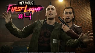 inFamous: First Light DLC #4 | O TRAIDOR | PS4 1080p HD Português/PT