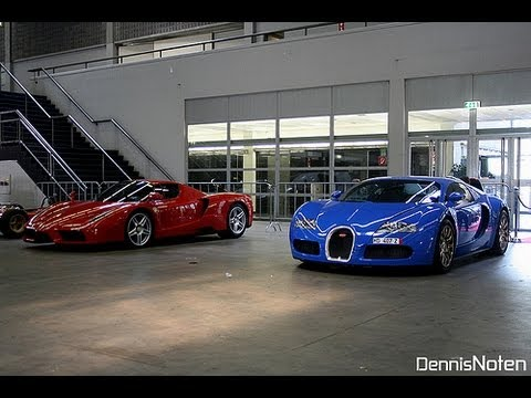 bugatti veyron vs ferrari enzo youtube. Black Bedroom Furniture Sets. Home Design Ideas