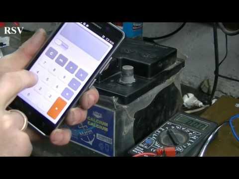 Видео как проверить уровень электролита в необслуживаемом аккумуляторе